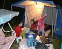 Climbers camp