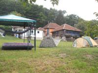 Climbers' camp