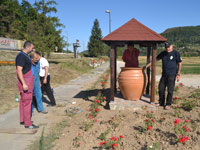 "Arranging a memorial park ""Gallows"" in Zlakusa"