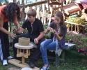 Rad dece nakon prezentacije starog grnčarskog zanata