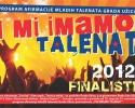 Brošura finalisti grada Užica za I mi imamo talenat 2012