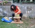 Izrada grnčarskih žardinjera i saksija za most na Đetinji