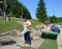 Radovi u spomen parku