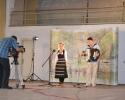 Slavica Nikolić na snimanju emisije Šljivik