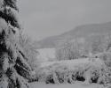 Zimska idila u selu