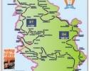 Položaj Terzića avlije na evropskom pešačkom putu e7