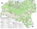 Planinarska karta sa markiranim stazama - Terzića avlija sa okolinom