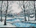 Potok zimi
